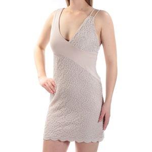 SALE Free People Asymmetric Shoulder Lace Dress S